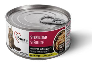1st Choice консервы для стерилизованных