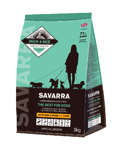 SAVARRA Adult Dog Mini Duck/Rice