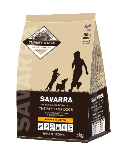 SAVARRA Puppy All Breed Turkey/Rice