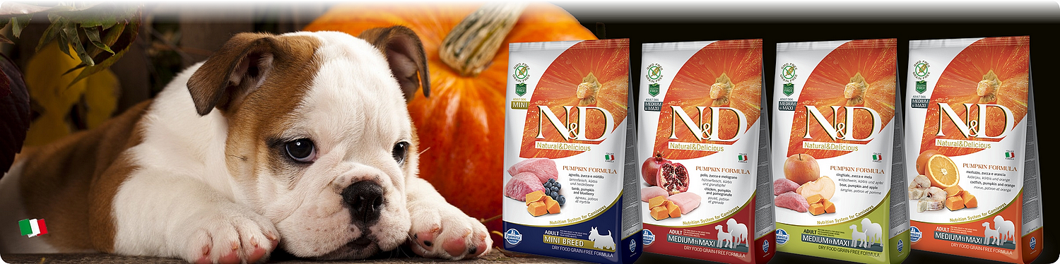 farmina n&d grain free pumpkin