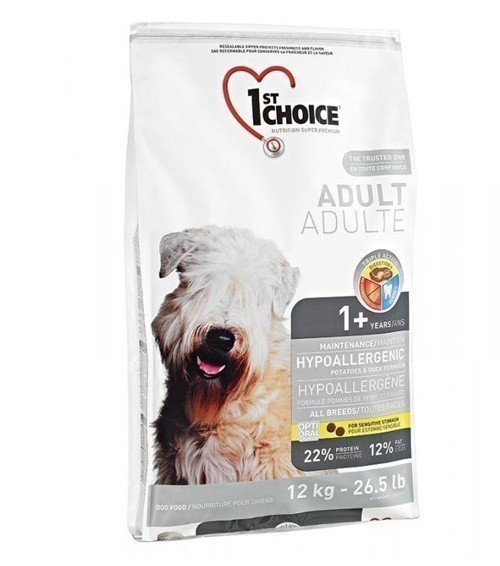 1ST CHOICE Adult Hipoallergenic GF All Breed 12 кг