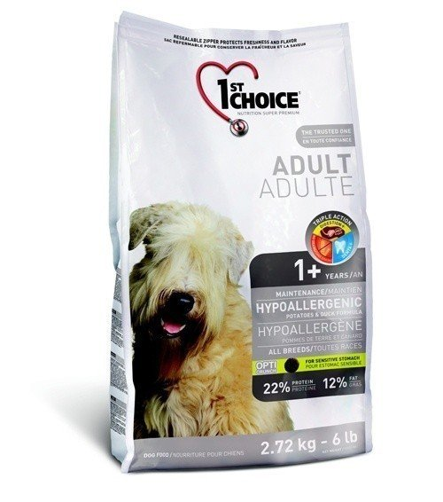 1ST CHOICE Adult Hipoallergenic GF All Breed 2,72 кг