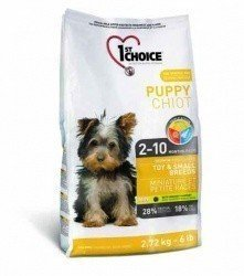 1ST CHOICE Puppy Toy & Small Breed 2,72 кг