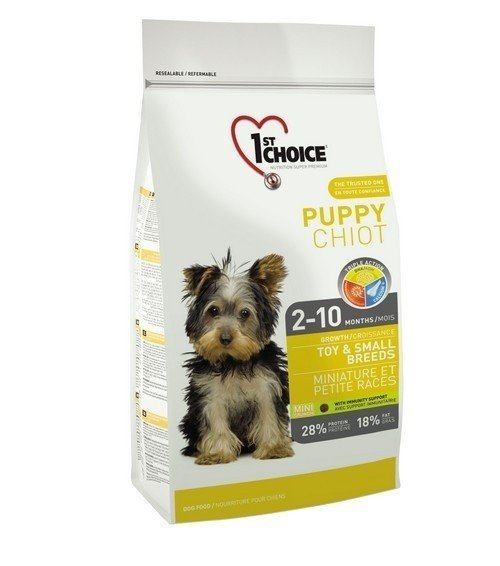 1ST CHOICE Puppy Toy & Small Breed 7 кг