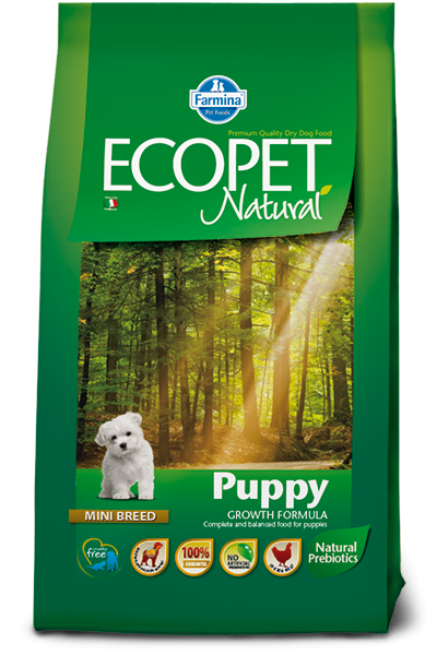 Ecopet Natural Puppy mini 2,5 кг