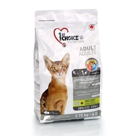 1st CHOICE Hypoallergenic GF Adult Cat 2,72 кг