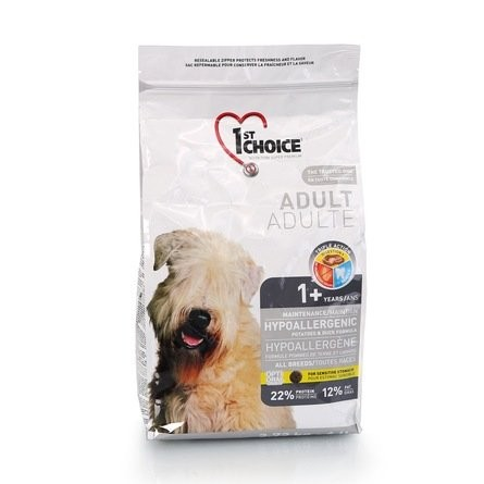 1ST CHOICE Adult Hypoallergenic GF All Breed 2,72 кг
