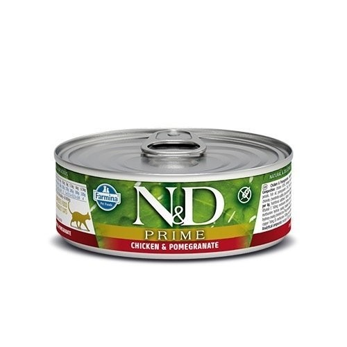 N&D Cat Prime Chicken & Pomegranate 80 г